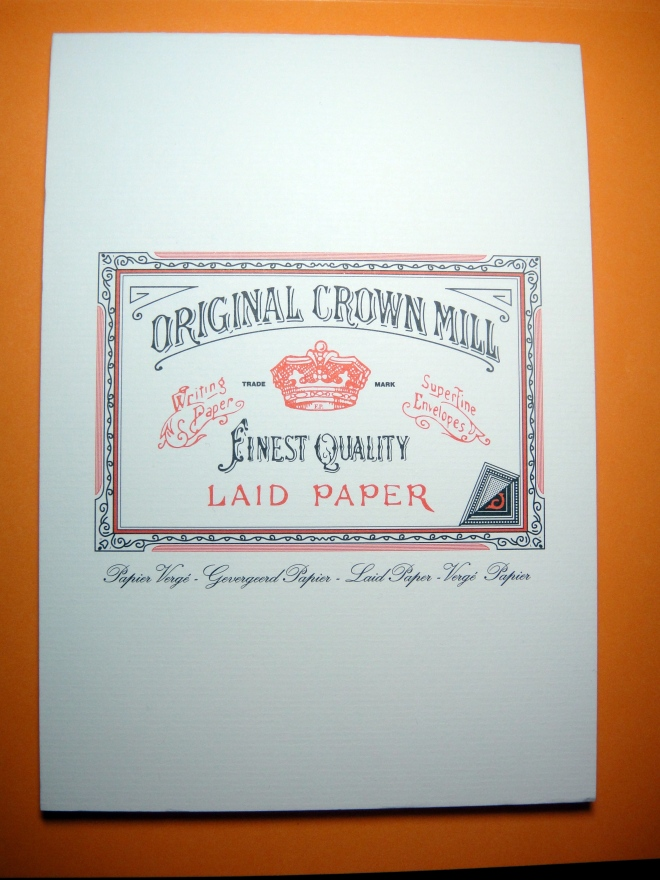 Original Crown Mill Pad