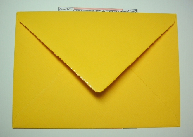 Original Crown Mill Envelope