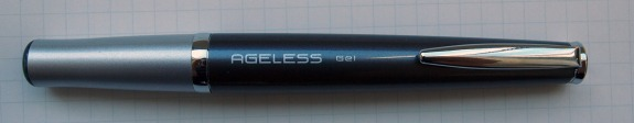 Pilot Ageless Pen - tip position 1 - fully retracted