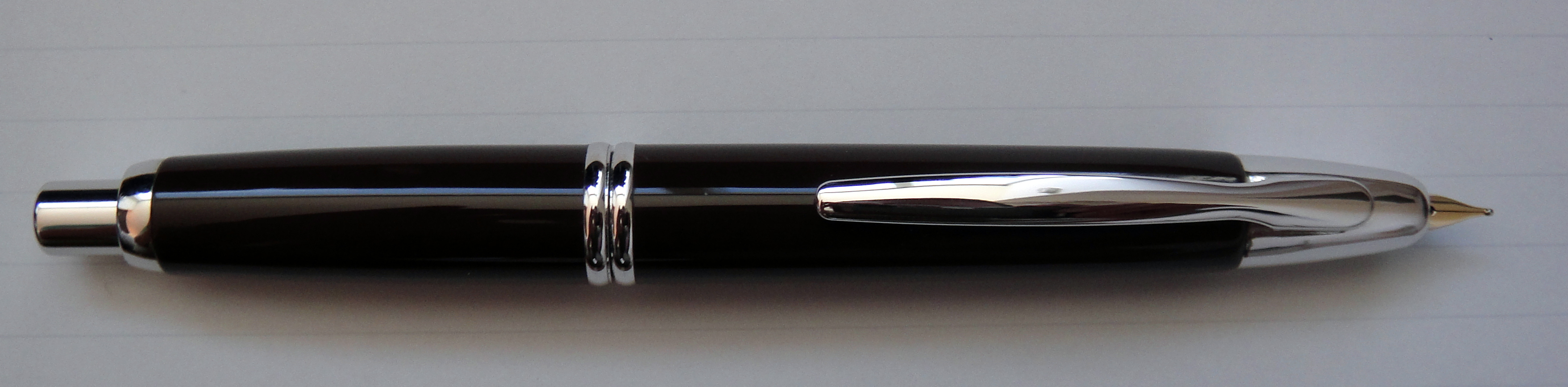 Current style Pilot Vanishing Pont with nib extended