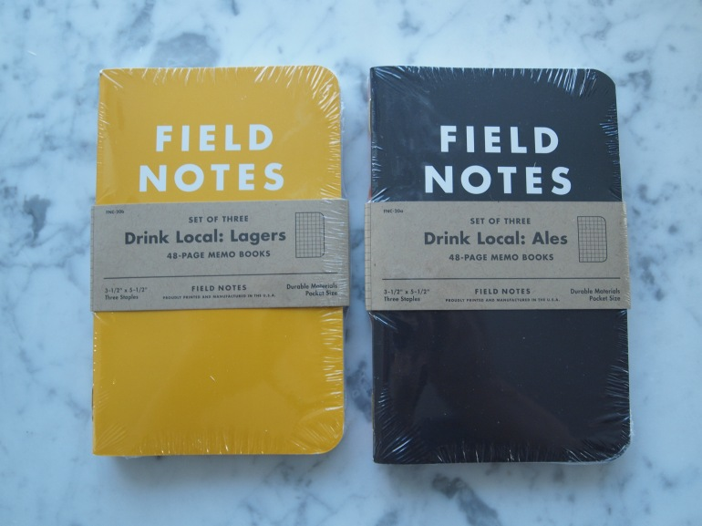 The new Field Notes Drink Local Edition