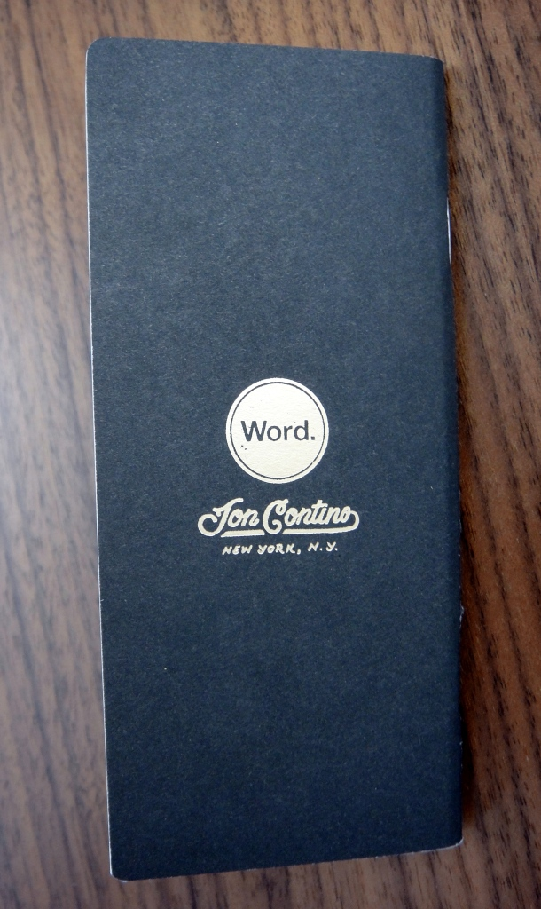 Word Notebooks The Standard Memorandum