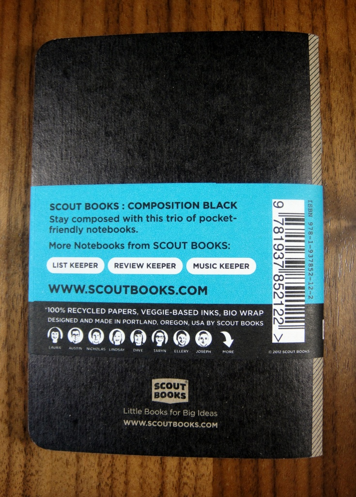 Scout Books Notebook
