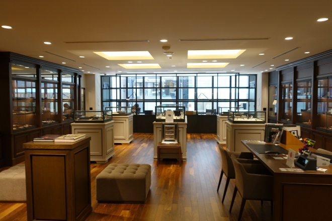 K. Itoya, the fountain pen shop.  This is the second floor dedicated to Maki-e pens and limited editions.  They had tons of Maki-e pens from Namiki, Danitrio, Nakaya, Pelikan, and even Parker.