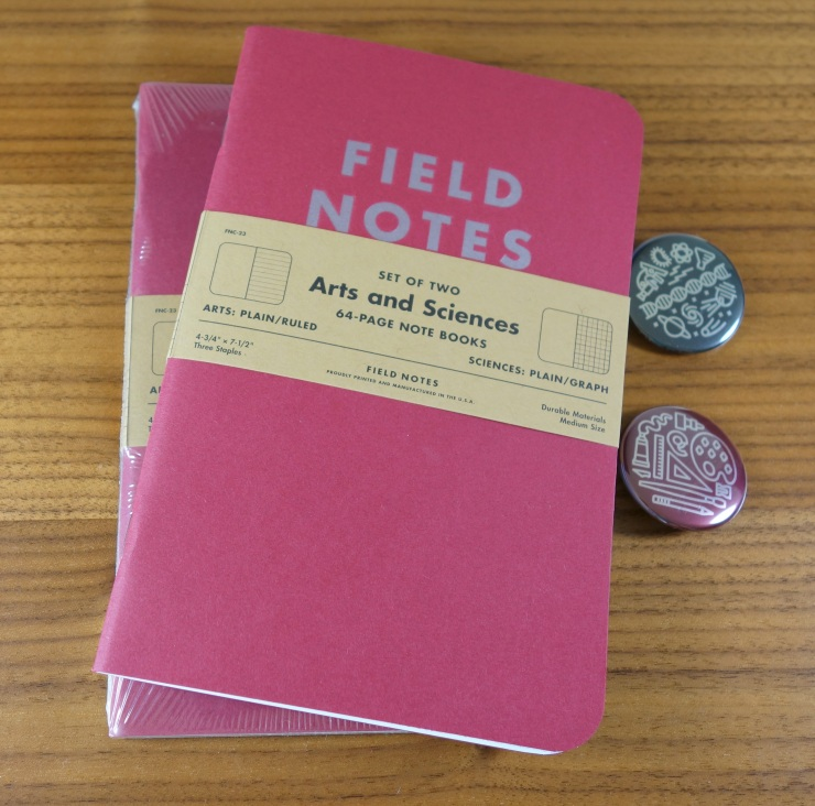 Field Notes Arts and Sciences Edition