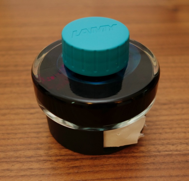 Lamy Turquoise Fountain Pen Ink