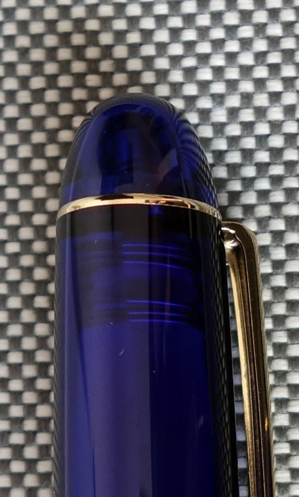 Platinum 3776 Century Chartres Blue Fountain Pen