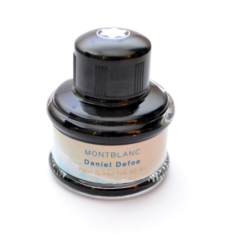 Montblanc Daniel Defoe Palm Green Fountain Pen Ink