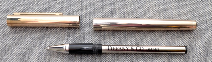 Tiffany & Co. Sterling Silver Roller Ball Pen