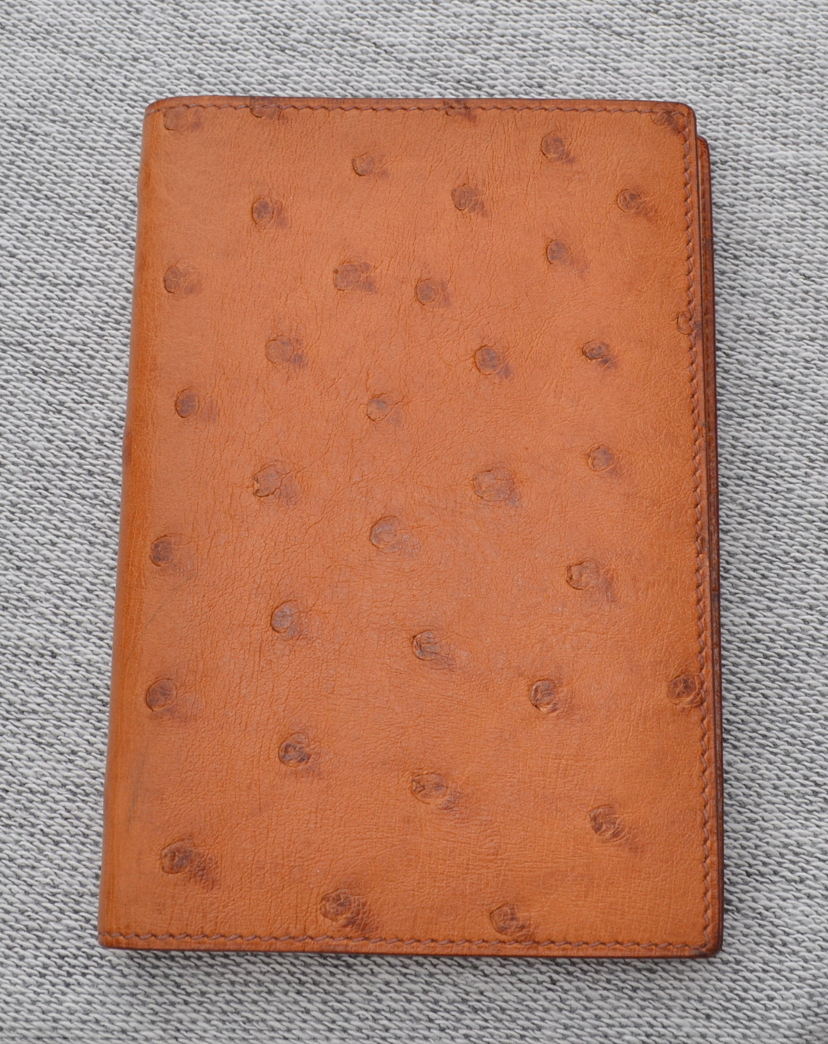 hermes birkin bag cost - Herm��s Ostrich GM Notebook Agenda Cover Review �C THE UNROYAL WARRANT