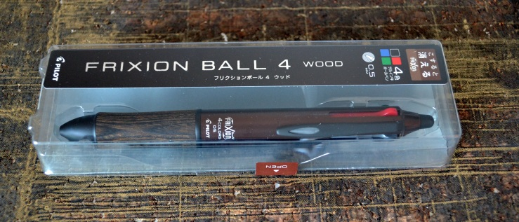 Pilot Frixion Ball 4 Wood Multi-Pen 0.5mm