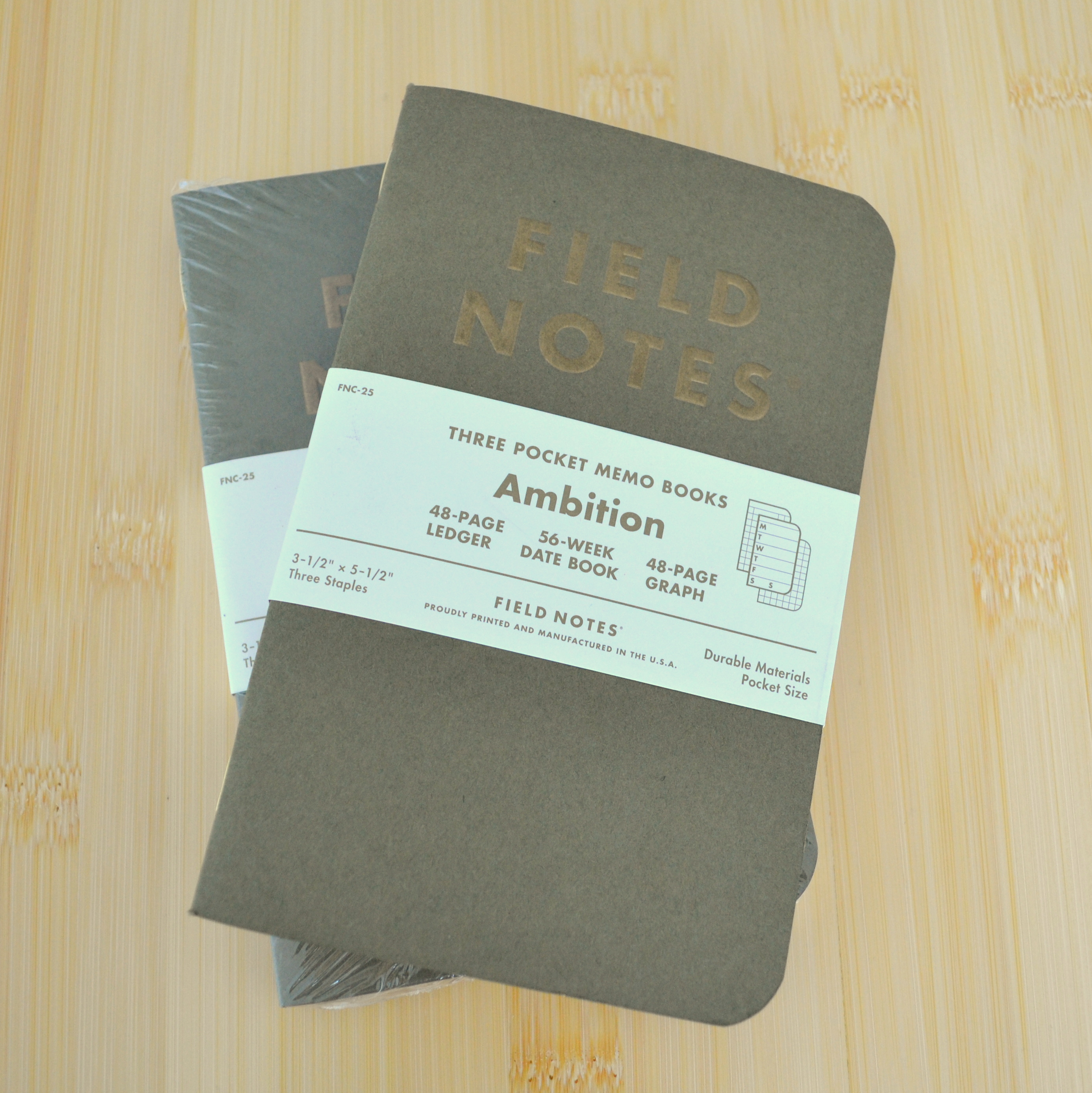 notebook review the unroyal warrant field notes ambition