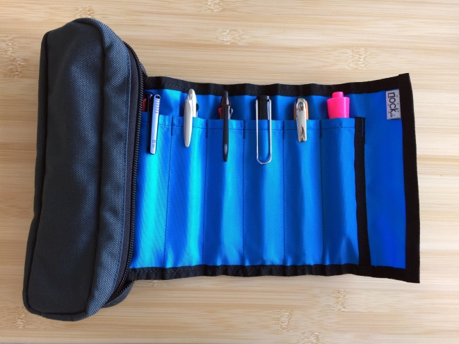 Nock Co Brasstown Zip Roll Pen Case