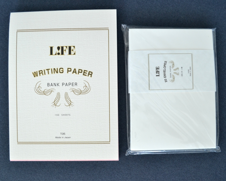 LIFE Bank Paper Stationery