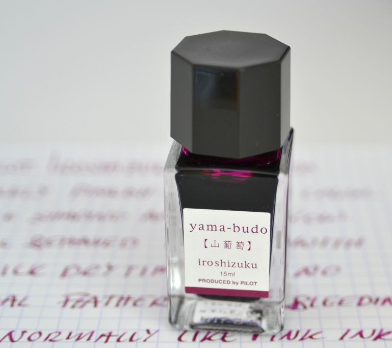 Pilot Iroshizuku Yama-Budo Fountain Pen Ink