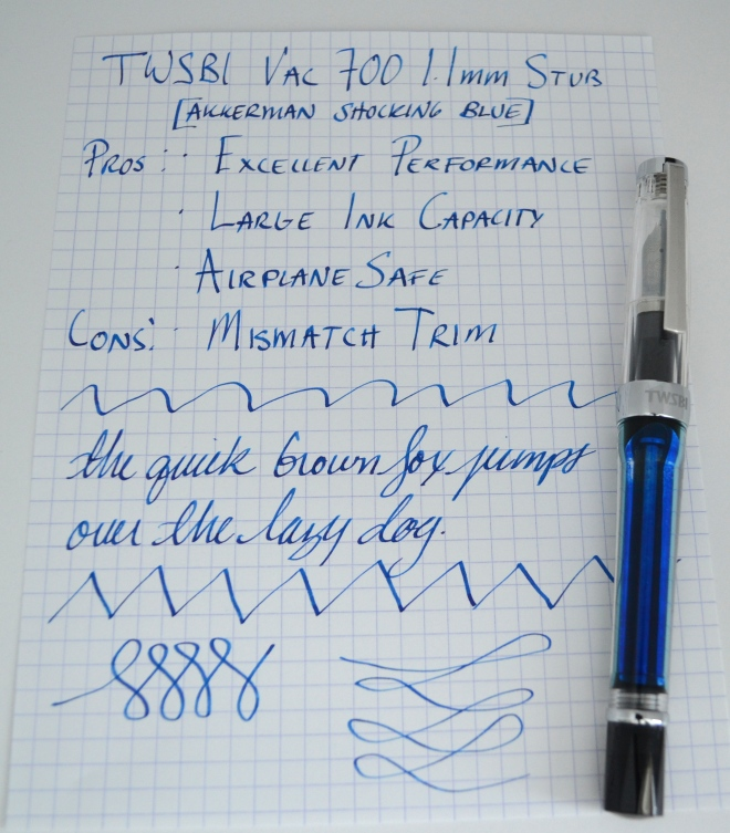 TWSBI Vac 700 Fountain Pen