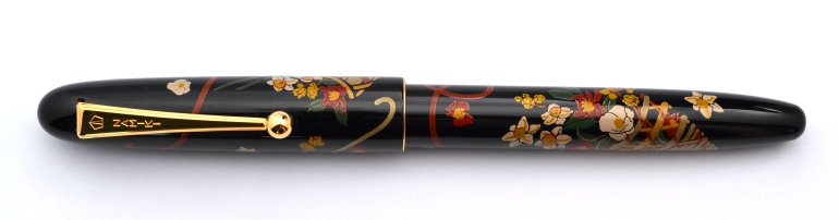 Namiki Nippon Art Flower Basket Fountain Pen