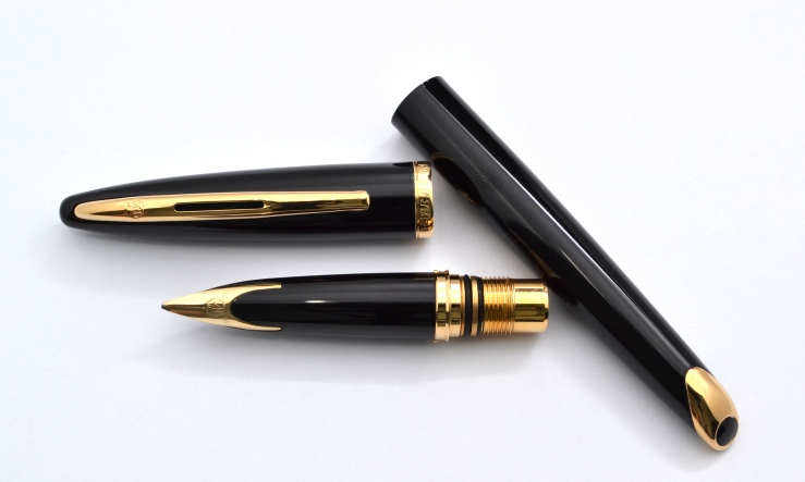 Waterman Carene Black Sea Fountain Pen
