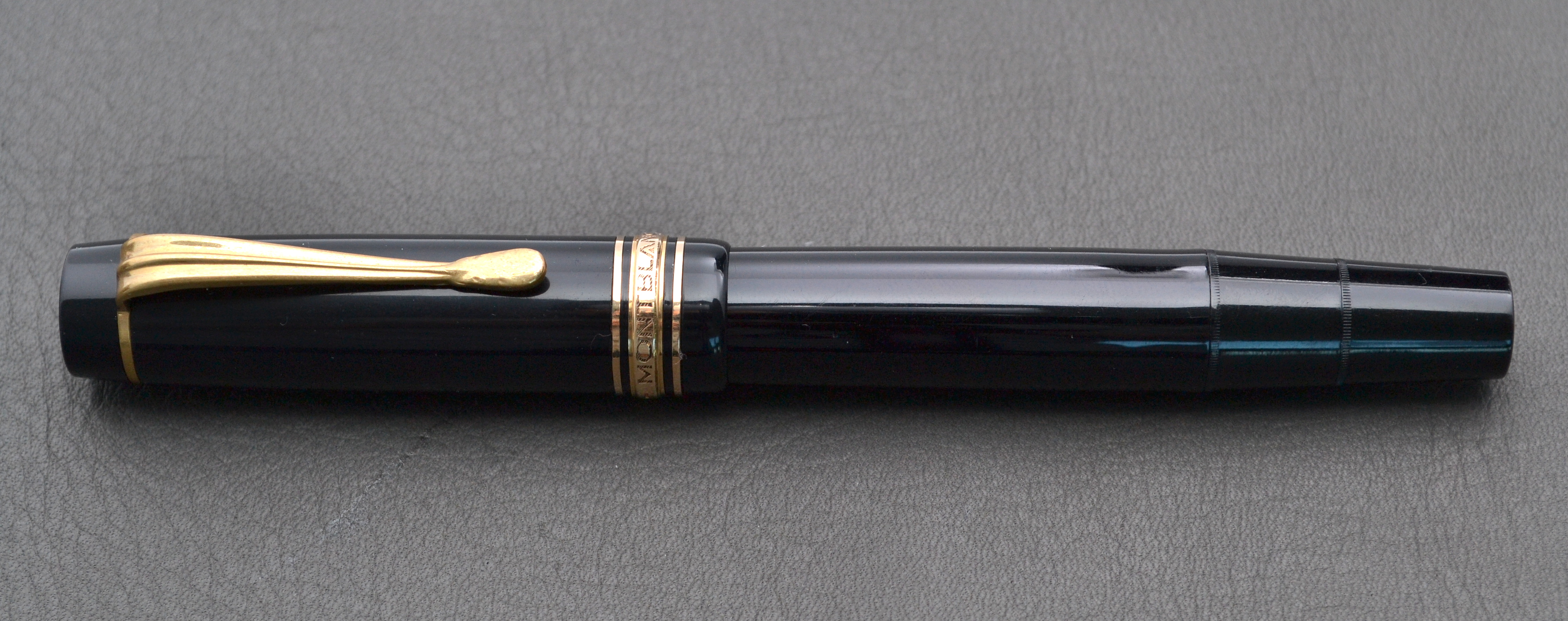 Montblanc meisterst ck 136 fountain pen review the for Montblanc house