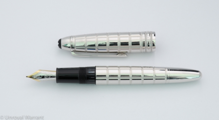 Montblanc Le Grand Platinum Facet Fountain Pen-2