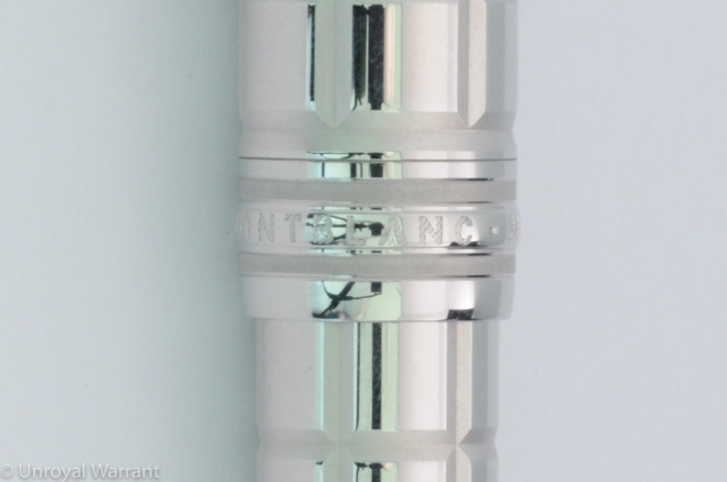 Montblanc LeGrand Platinum Facet Fountain Pen-6
