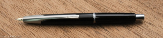 Old style faceted Namiki VP with a Pendleton Brown Butter Line Stub nib