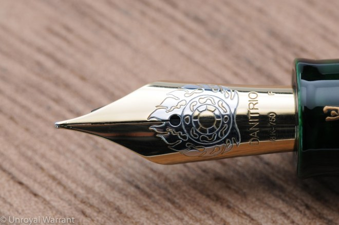 Danitrio Hakkaku Fountain Pen-6