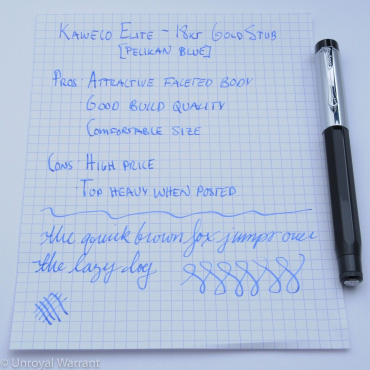 Kaweco Elite Fountain Pen -1