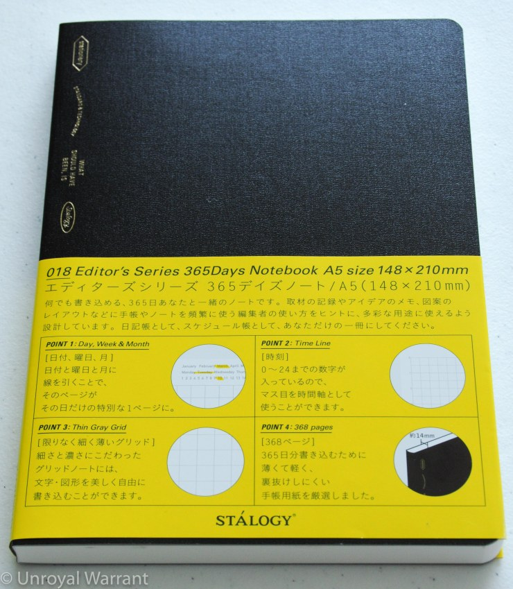 Stalogy 365 Days Notebook -2
