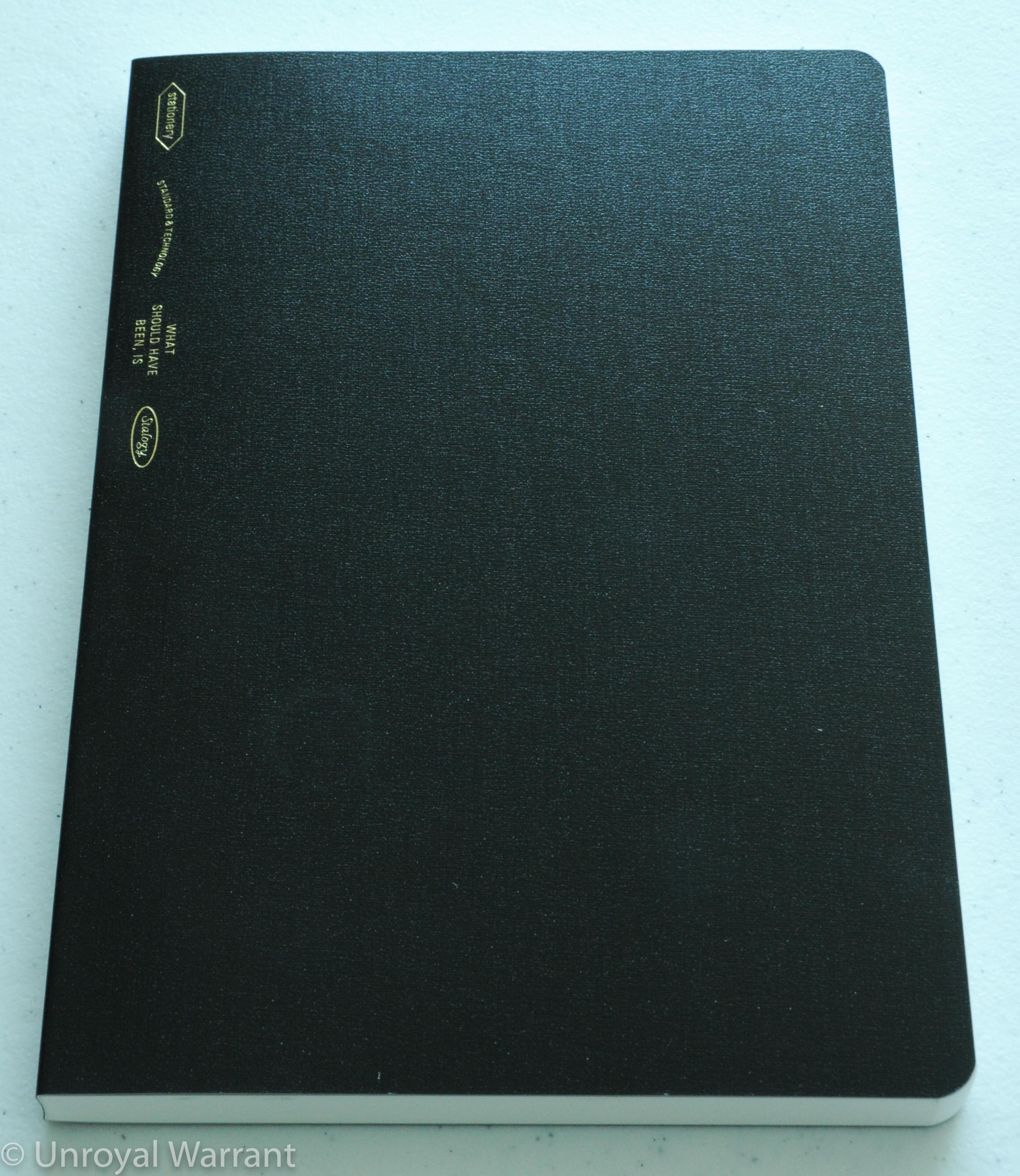 the unroyal warrant by appointment to the desk bound stalogy 365 days notebook 4
