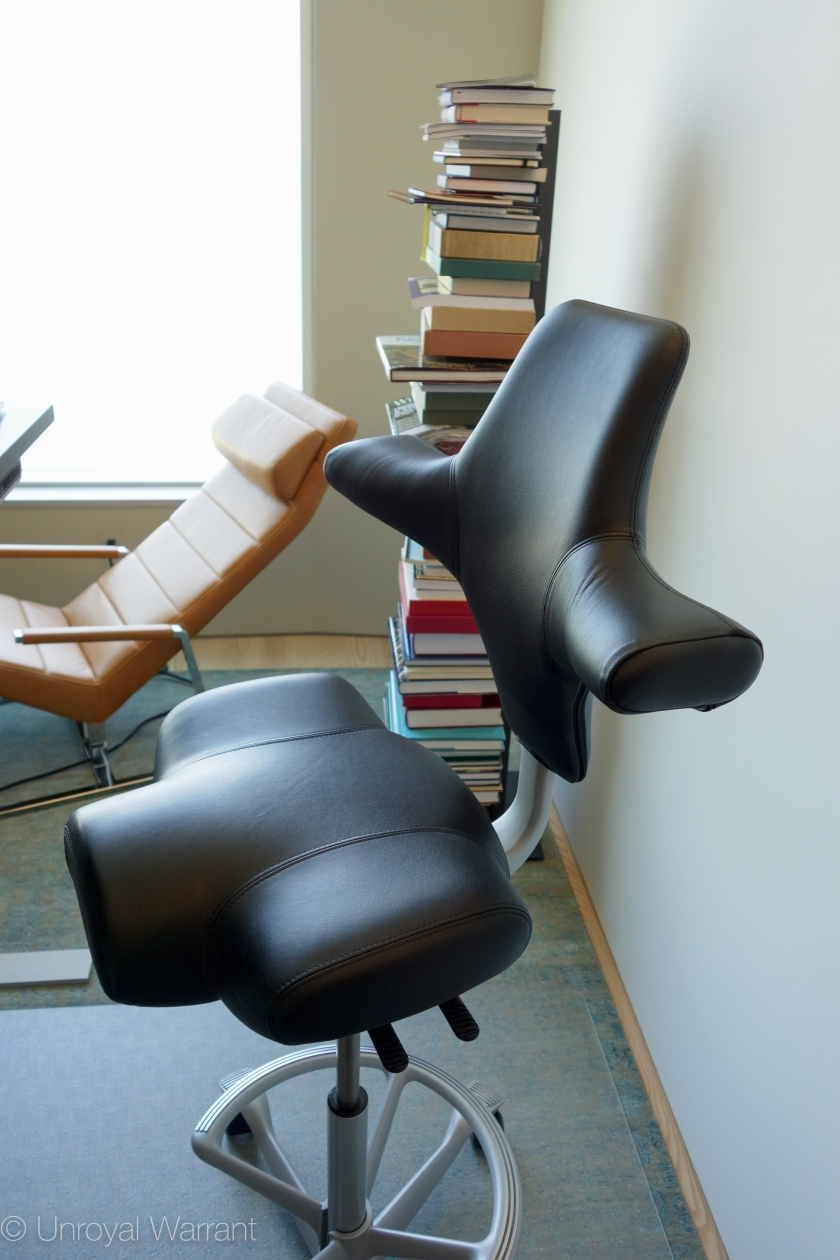 backrest in highest position and seat fully forward